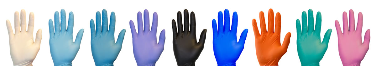 What is nitrile gloves mean?