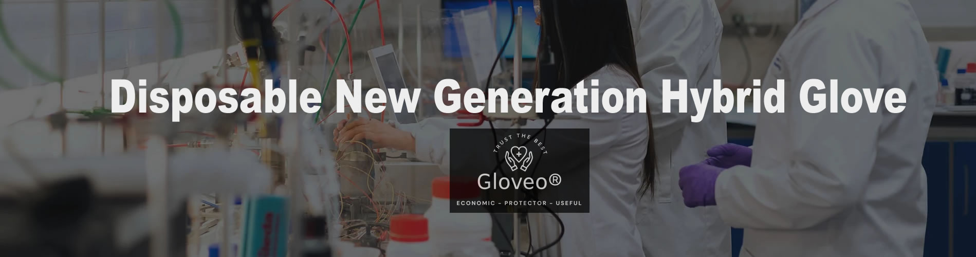 Gloveo Disposable New Generation Hybrid Glove by MARKAP Tekstil ve Danışmanlık A.Ş